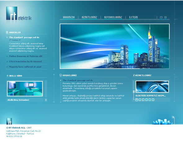 土耳其serdar meydanc; 网页设计作品欣赏