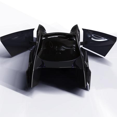 雷克萨斯Lexus Nuaero超级拉风的概念电动跑车