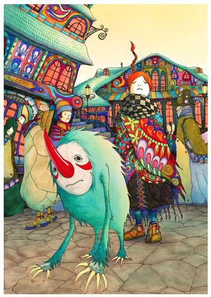 日本著名插画设计师junaida的童话世界