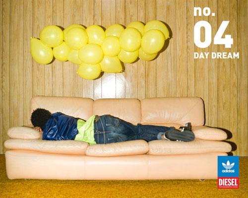 Adidas&Diesel 2008秋冬新款牛仔裤广告海报欣赏