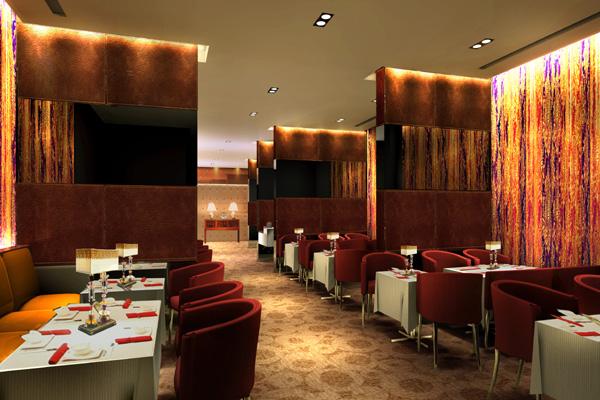 布置典雅的酒店效果图设计