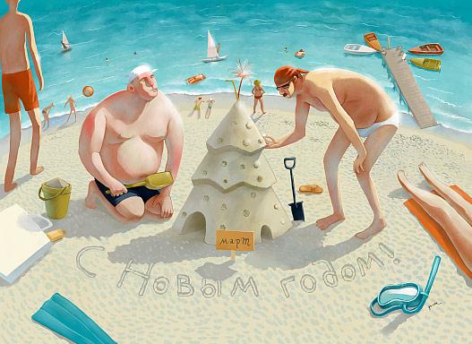 俄罗斯插画家Oksana Grivina―捕获心灵的静谧欣赏