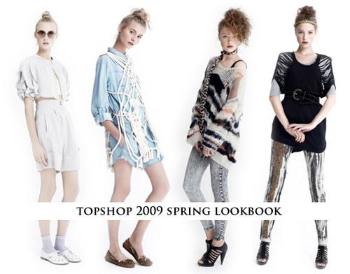 Topshop 2009春装目录大曝光