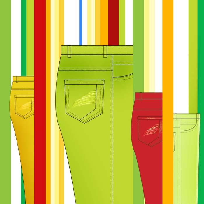 服装推广图案款式线条设计