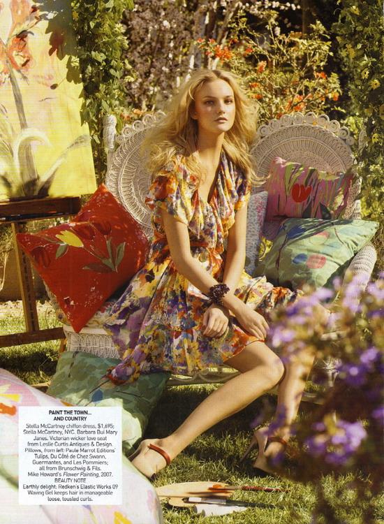 Vogue春天的浪漫色彩